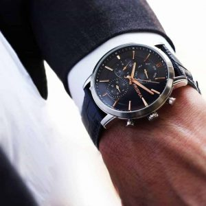 prisma horloges watches traveller refined blue suit pak