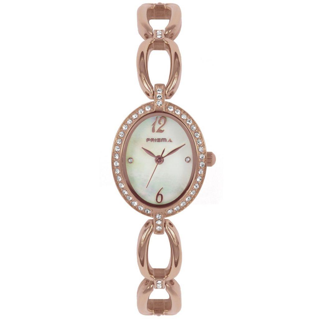 Prisma-P1530-dames-horloge-rosegoud-edelstaal-recht