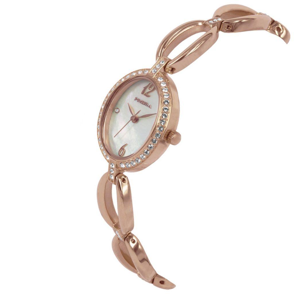 Prisma-P1530-dames-horloge-rosegoud-edelstaal-schuin