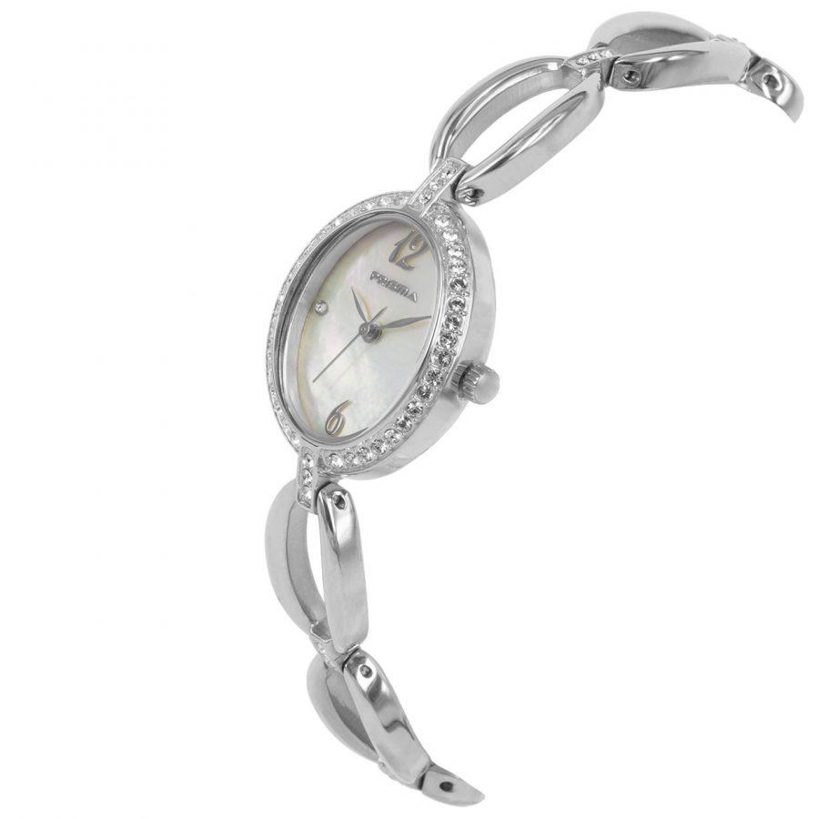 Prisma-P1531-dames-horloge-zilver