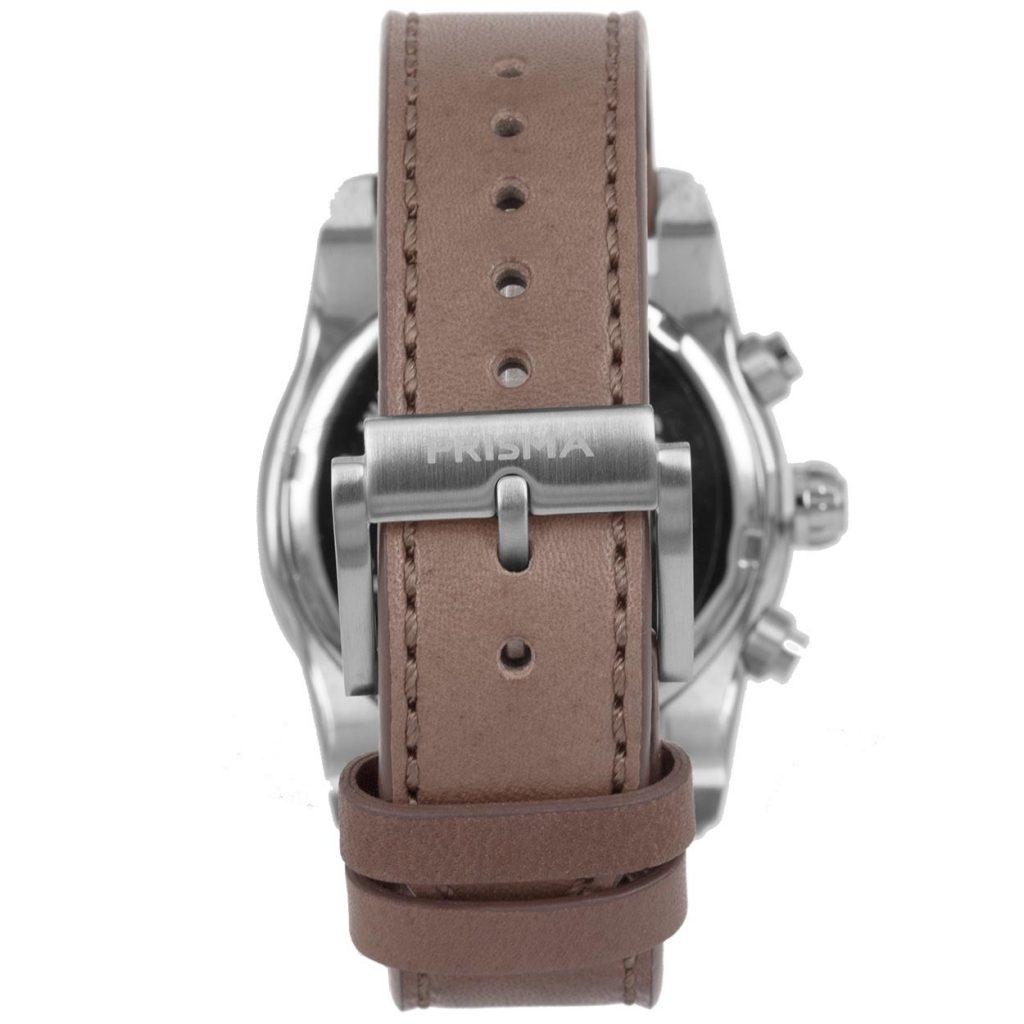Prisma-P1593-heren-horloge-edelstaal-licht-blauw-achterkant
