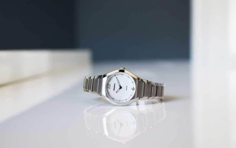 Prisma titanium ladies watch simplicity titanium