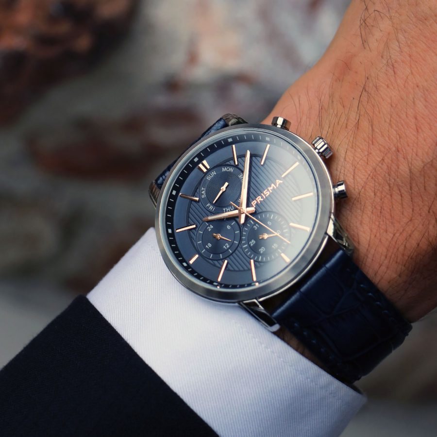 Prisma Horloge watch Traveller Refined men watches