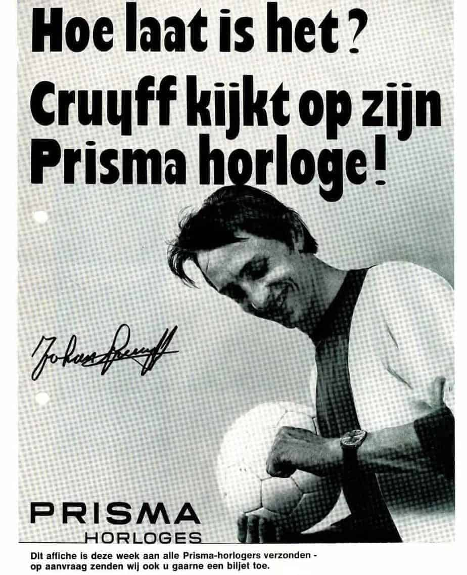 johan cruijff prisma horloges watches