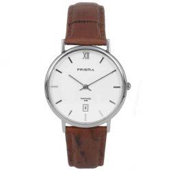 Prisma-P1002-heren-horloge-edelstaal-bruin-l