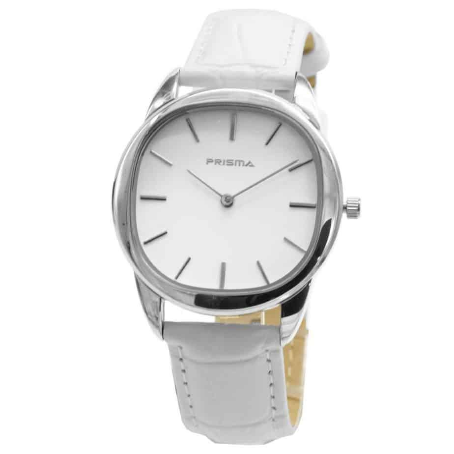 Prisma-P1092-horloge-dames-staal-leer-wit-811006-l