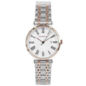 Prisma-P1521-dames-horloge-edelstaal-bicolor-rosegoud-l
