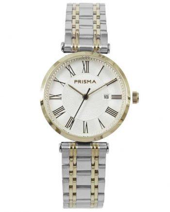 Prisma-P1522-dames-horloges-edelstaal-bicolor-l