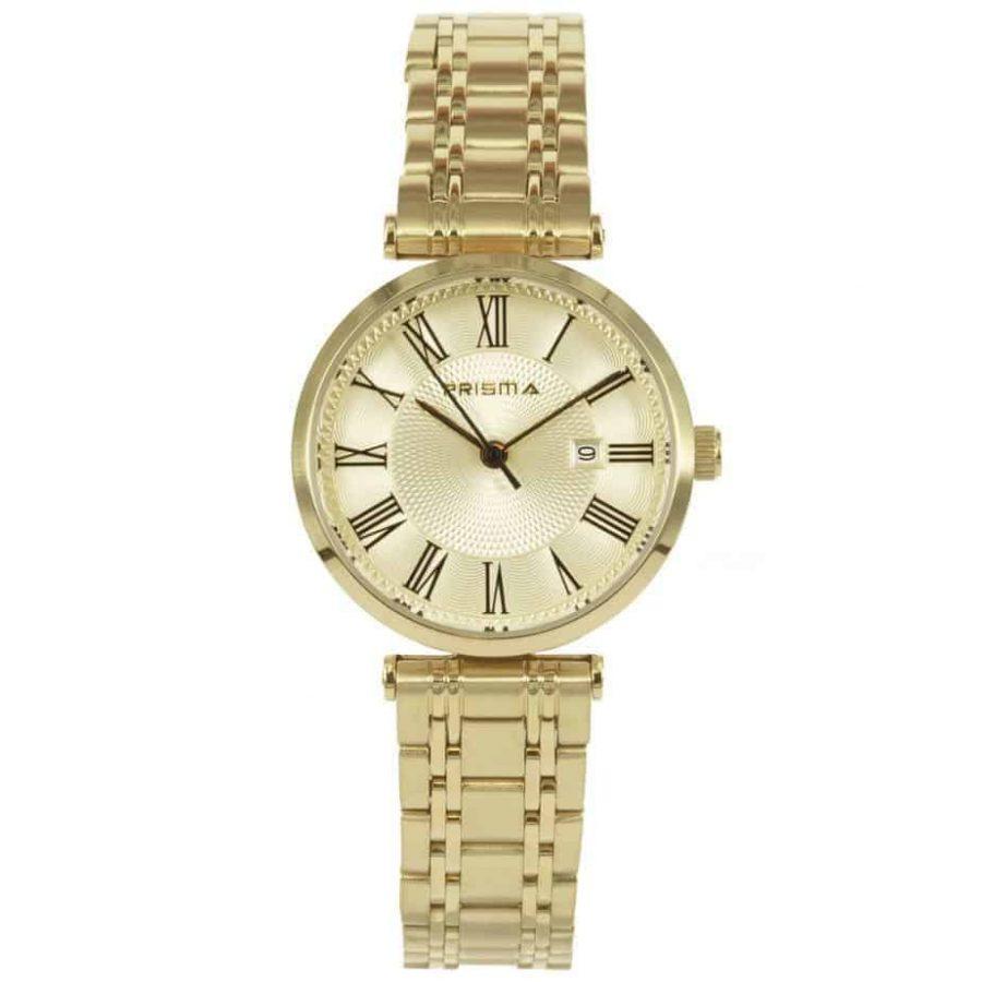 Prisma-p1523-dames-horloges-edelstaal-goud-l
