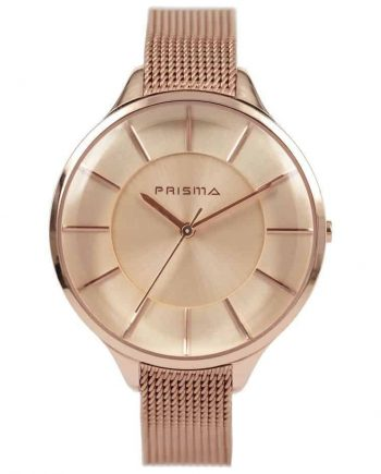 Prisma-P1577-dames-horloge-rosegoud-milanese-edelstaal-l