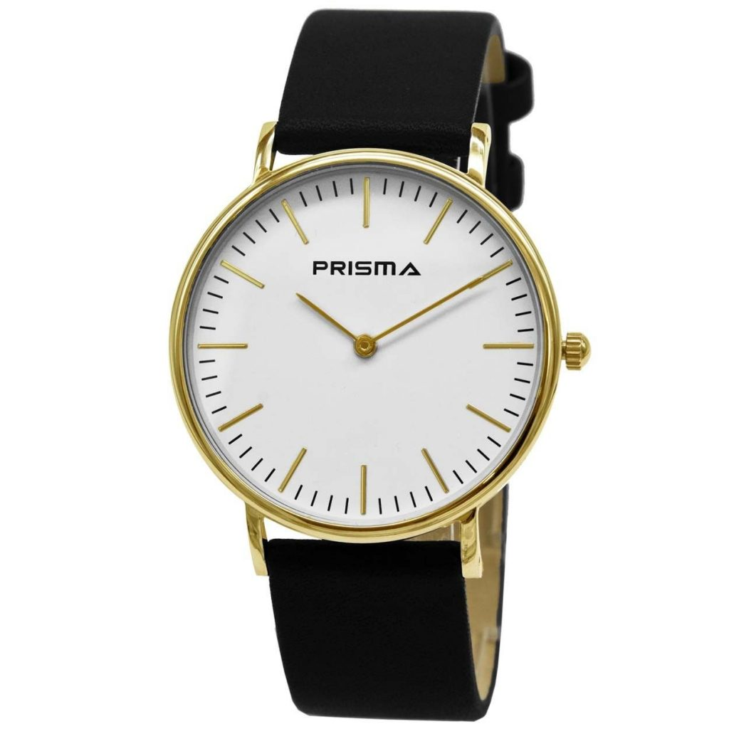 Prisma-P1620-114G-horloges-edelstaal-goud-lederen-zwart-l