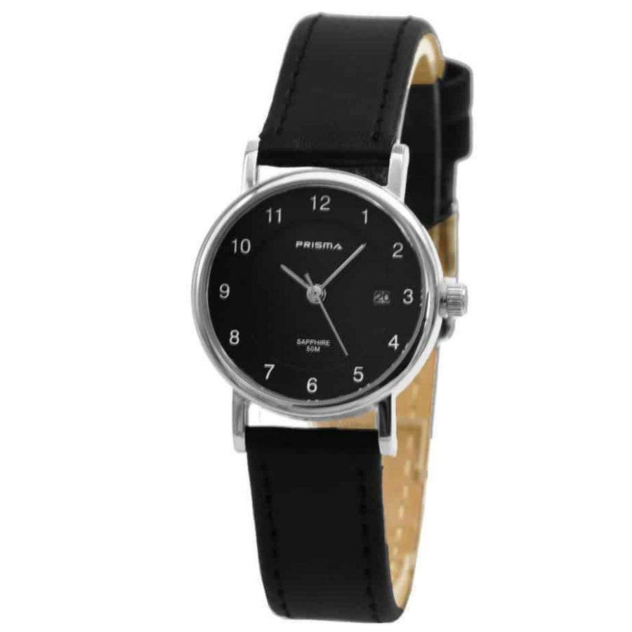 Prisma-P1670-horloges-dames-zwart-edelstaal-saffierglas-A821204-l