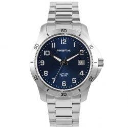 Prisma-P1736-horloges-heren-edelstaal-saffier-blauw-datum-l