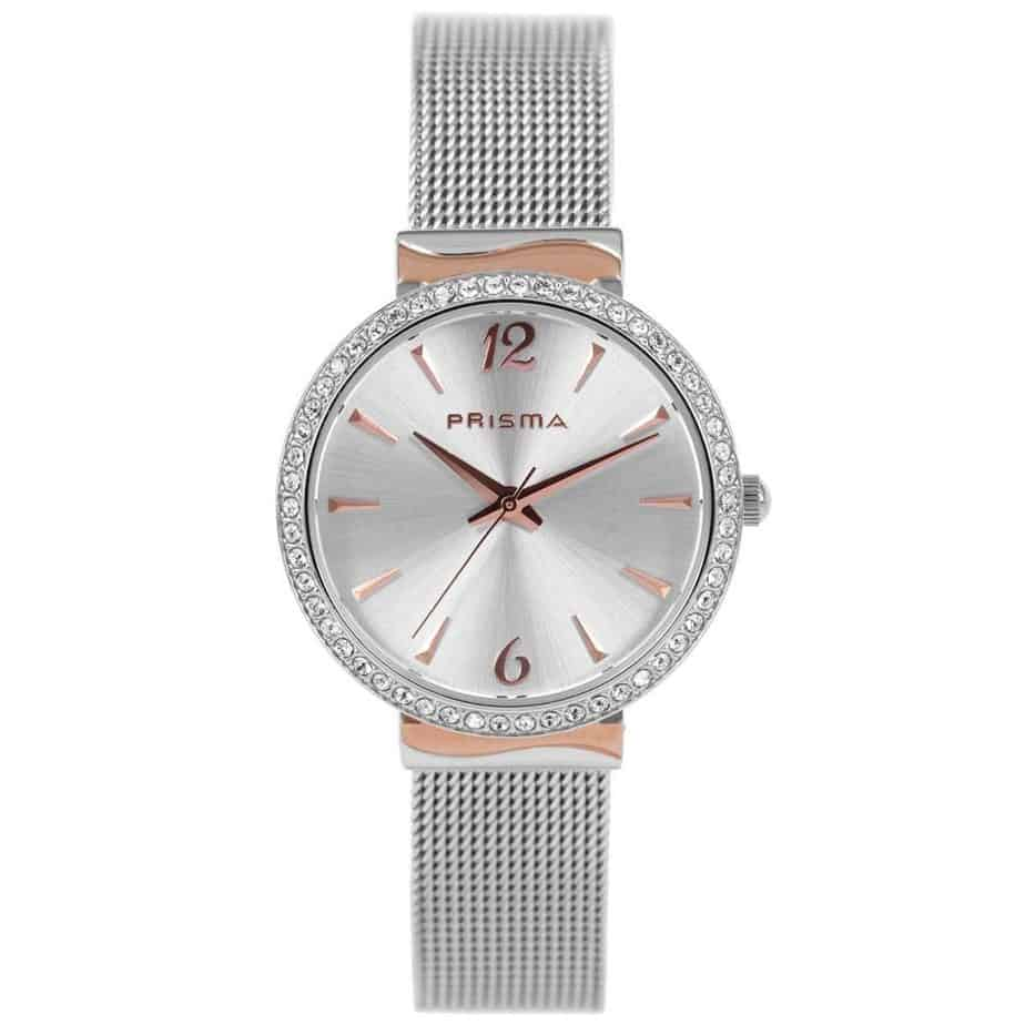 Prisma-P1566-horloges-dames-edelstaal-rosegoud-mesh-l