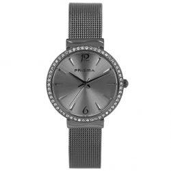 Prisma-P1569-horloges-dames-zwart-edelstaal-mesh-strass-l