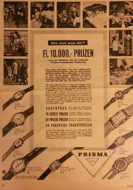 Prisma krantenknipsel