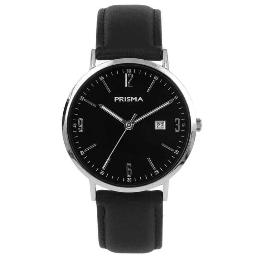 prisma-P1502-heren-slimline-zwart-l