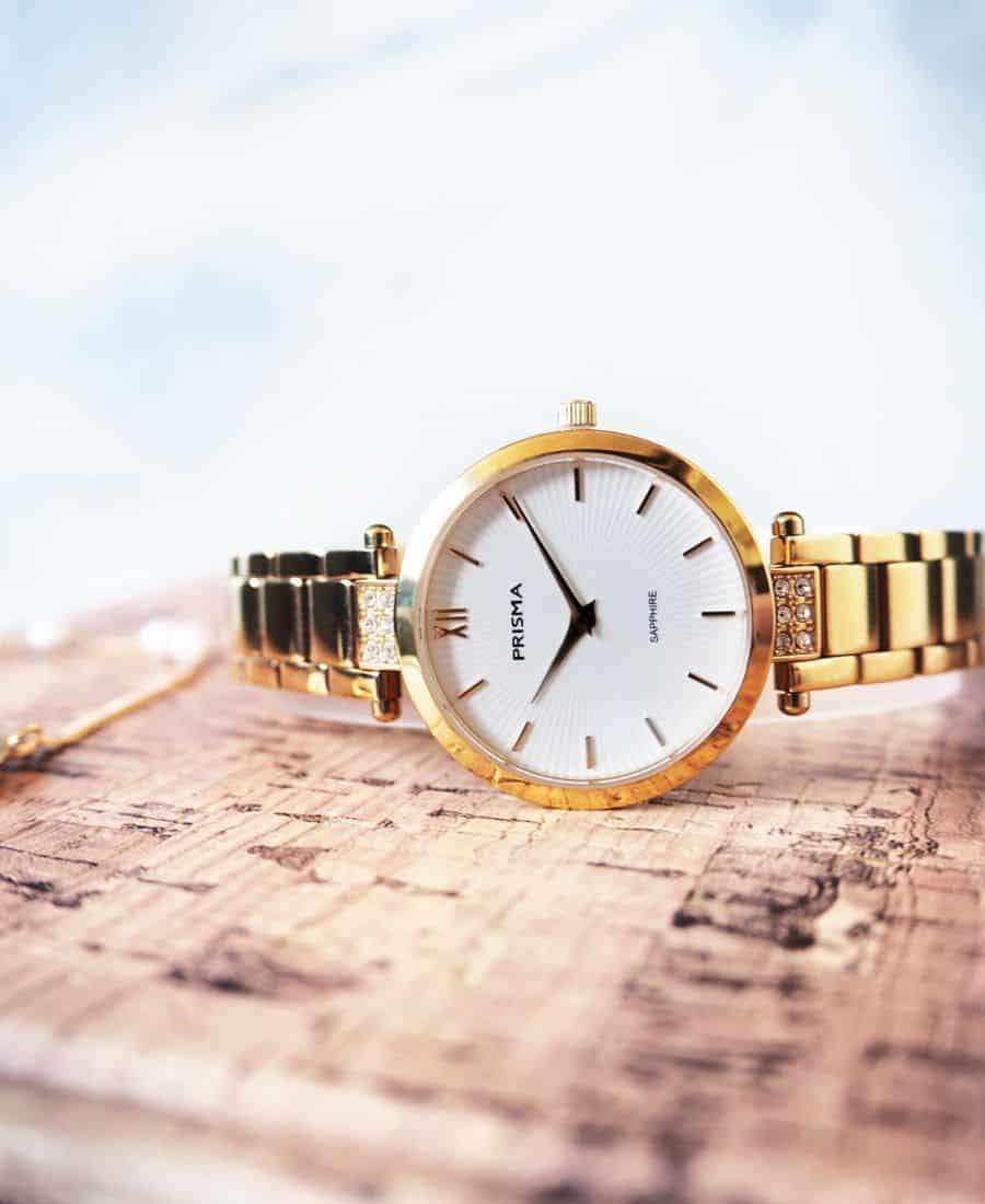 prisma simplicity appeal strass horloge dames