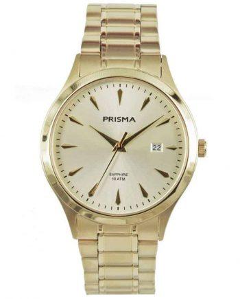 Prisma-P1652-heren-men-watch-horloge-edelstaal-goud-l