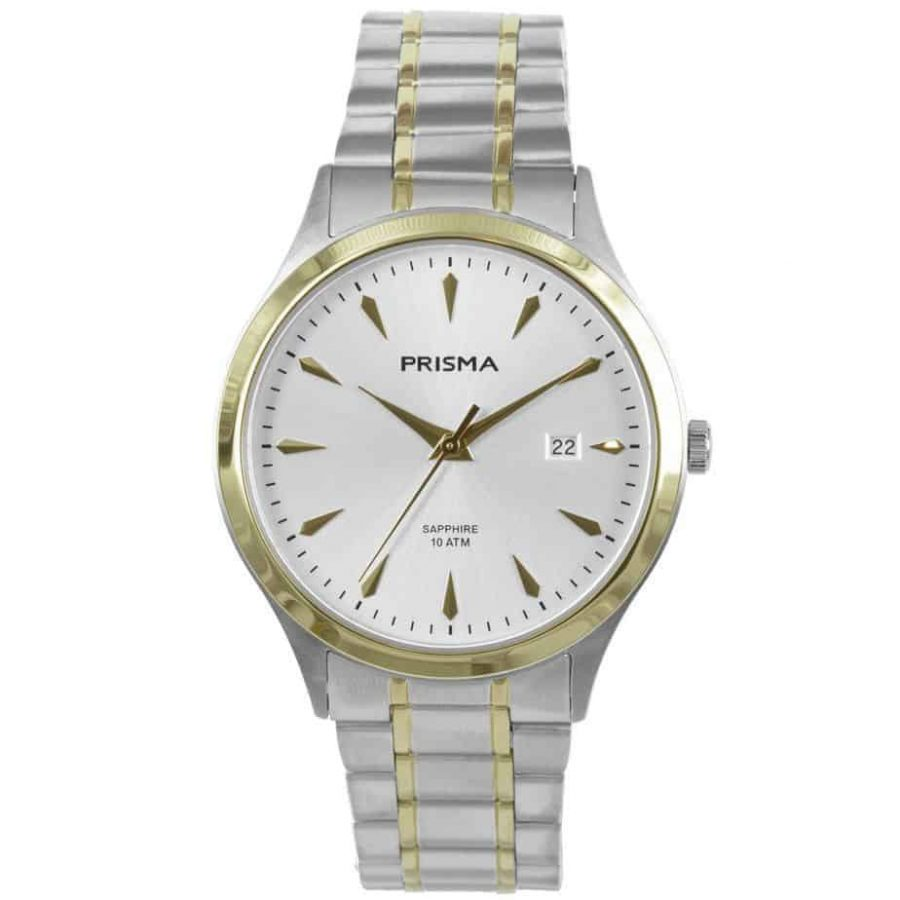 Prisma-P1653-heren-men-watch-horloge-edelstaal-bicolor-l
