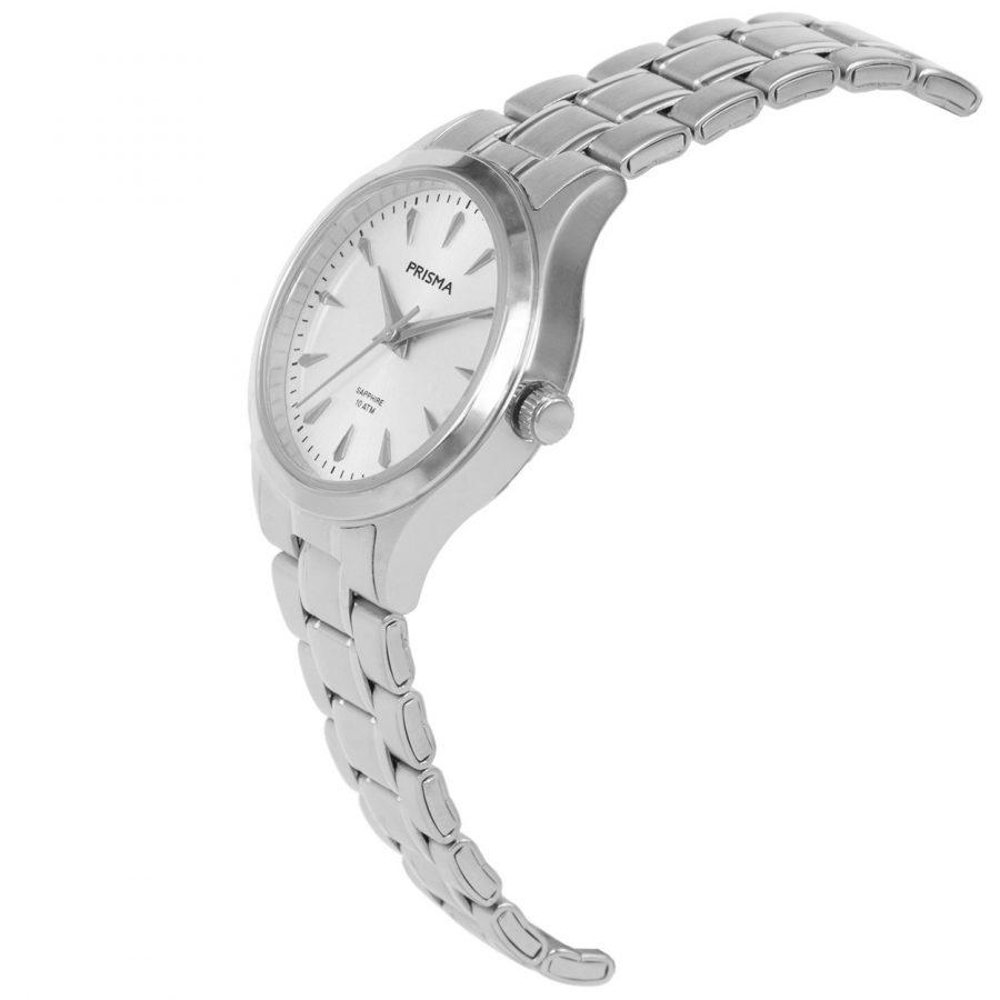 Prisma-P1655-dames-horloge-edelstaal-zilver-schuin