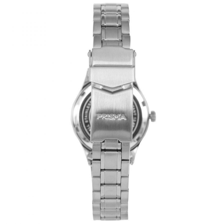 Prisma-P1659-dames-horloge-edelstaal-blauw-achterkant