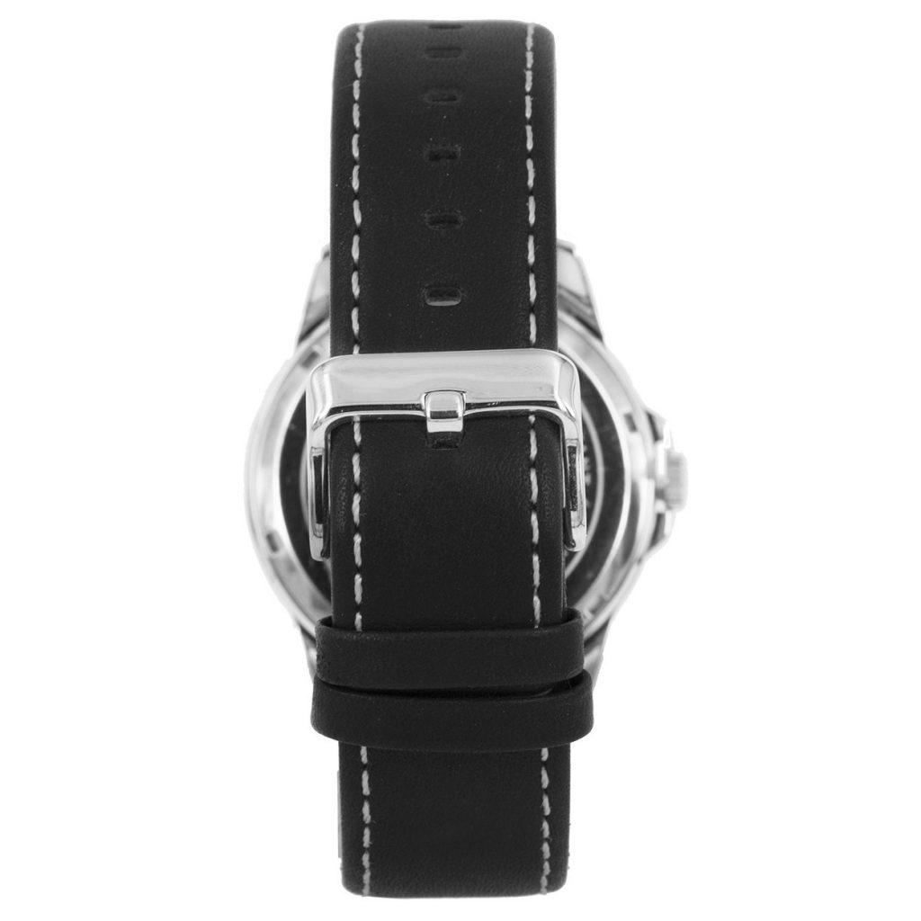 Prisma-P1660-heren-horloge-edelstaal-leer-achterkant