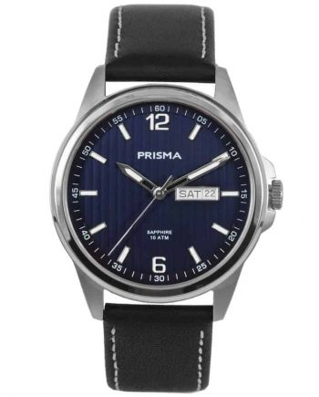 Prisma-watch-horloge-men-P1661-pattern-heren-horloge-edelstaal-leer-l