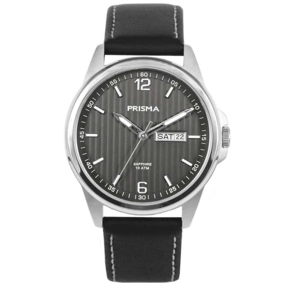 Prisma-P1662-heren-horloge-edelstaal-leer-l