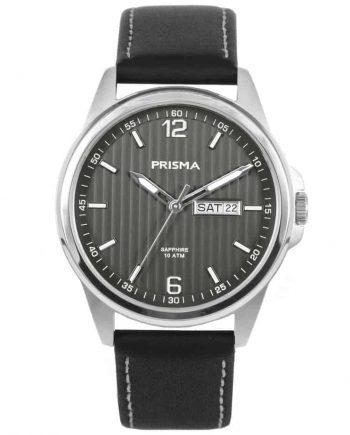 Prisma-watch-horloge-men-P1662-heren-horloge-edelstaal-leer-l