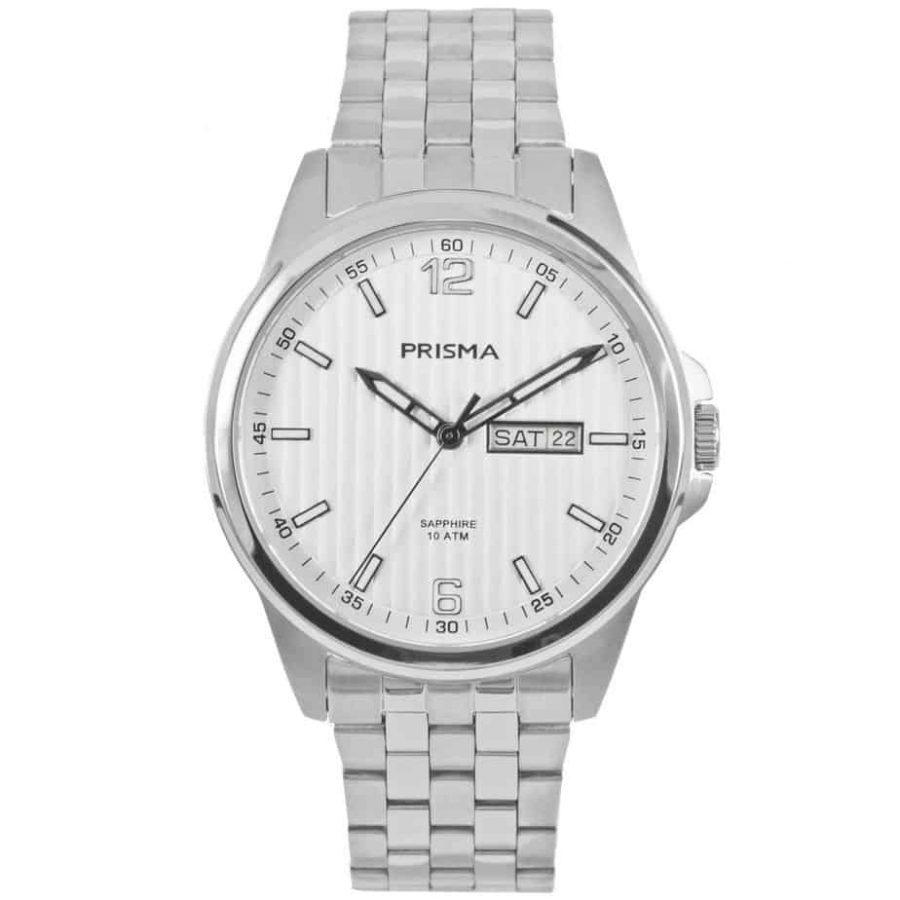 Prisma-P1663-heren-horloge-edelstaal-saffier-l
