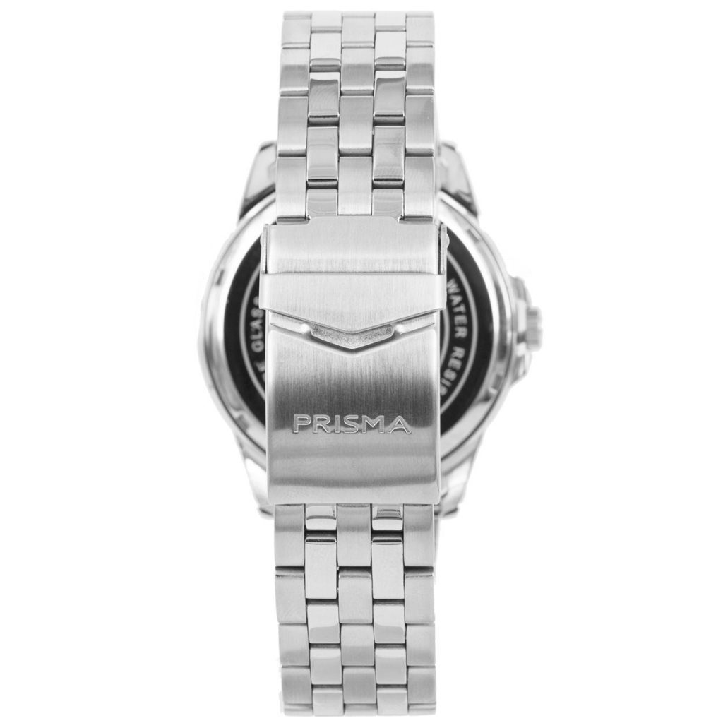 Prisma-P1664-heren-horloge-edelstaal-saffier-achterkant