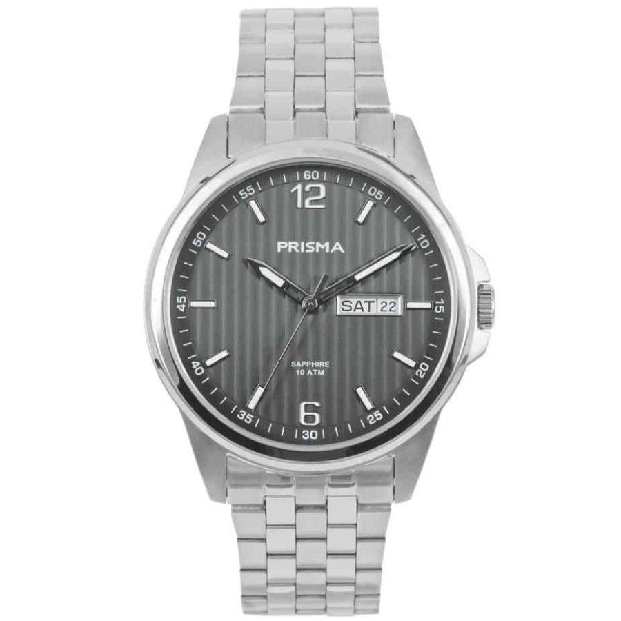 Prisma-P1665-heren-horloge-edelstaal-saffier-l