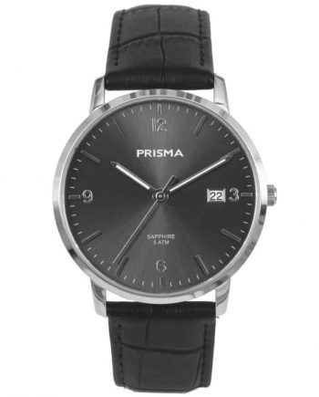 PRISMA-P1646-HEREN-HORLOGE-EDELSTAAL-GRIJS-MEN-WATCH