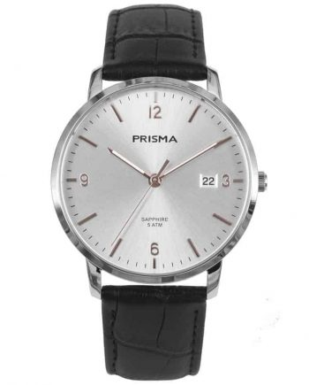 PRISMA-P1647-HEREN-HORLOGE-EDELSTAAL-ROSEGOUD-MEN-WATCH-L