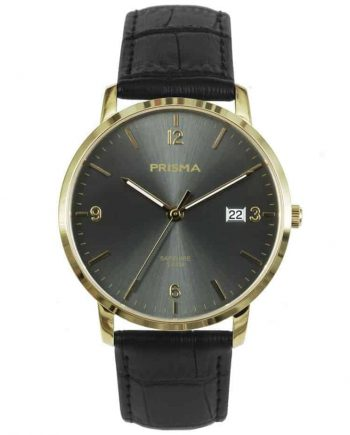 PRISMA-P1648-MEN-WATCH-HEREN-HORLOGE-EDELSTAAL-GOUD-L