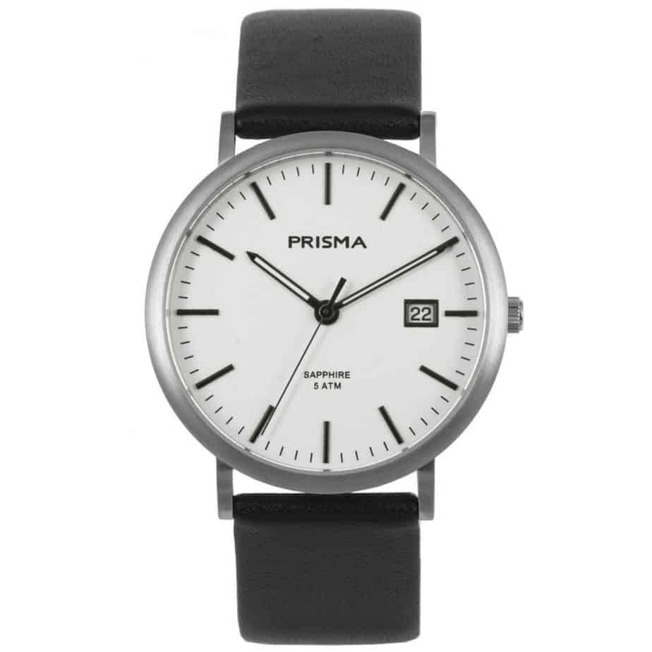 PRISMA-WATCH-P1667-HEREN-HORLOGE-TITANIUM-ZILVER-L