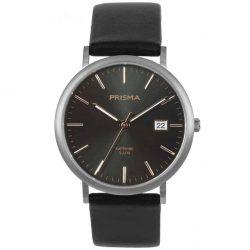 PRISMA-P1668-HEREN-HORLOGE-TITANIUM-ROSEGOUD-WATCH