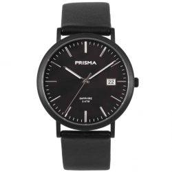 PRISMA-P1669-UNISEX-HORLOGE-TITANIUM-ZWART-L