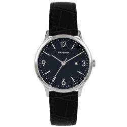 Prisma P1639 dames horloge edelstaal blauw