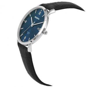 Prisma-P1645-heren-horloge-edelstaal-blauw-schuin