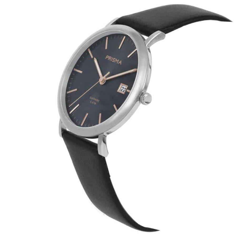 Prisma-P1668-heren-horloge-titanium-zilver-schuin