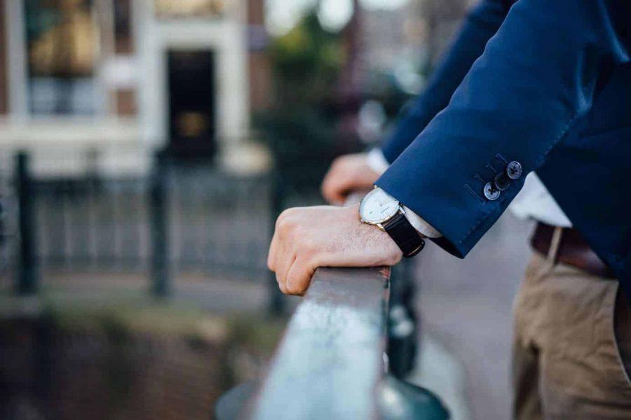 herenhorloge prisma slimline sun ray silver watch zilver horloge