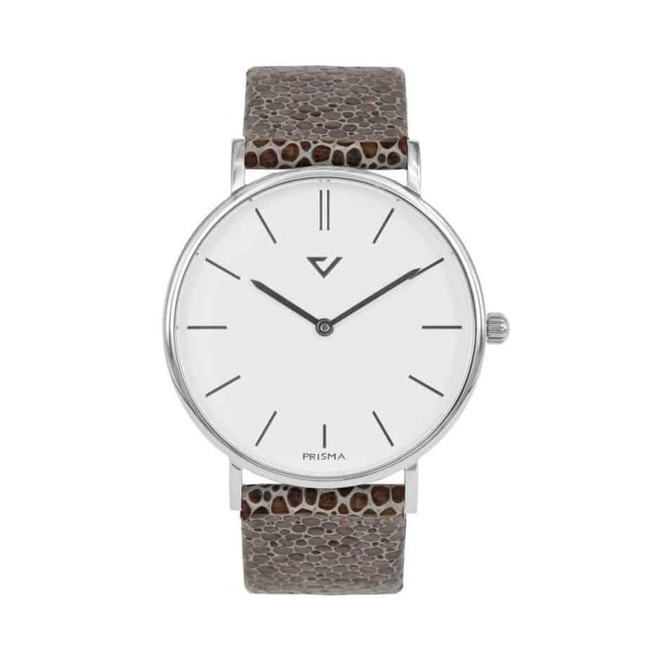 prisma 100% NL horloge bruin prisma 100%L horloge special edition P1625-436G Prisma 100NL bruin horloge online kopen voorkant