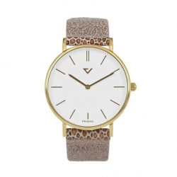 prisma 100% NL horloge blauw prisma 100%NL horloges special edition P1629-636G Prisma 100NL blauw horloge online kopen voorkant