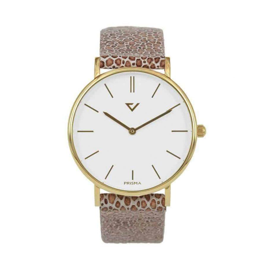 prisma 100%NL horloge blauw prisma horloges special edition P1629-636G Prisma 100NL blauw horloge online kopen voorkant