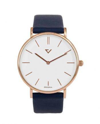 prisma Radio 100% NL horloge blauw prisma horloges special edition P1629-607G Prisma 100NL blauw horloge online kopen voorkant