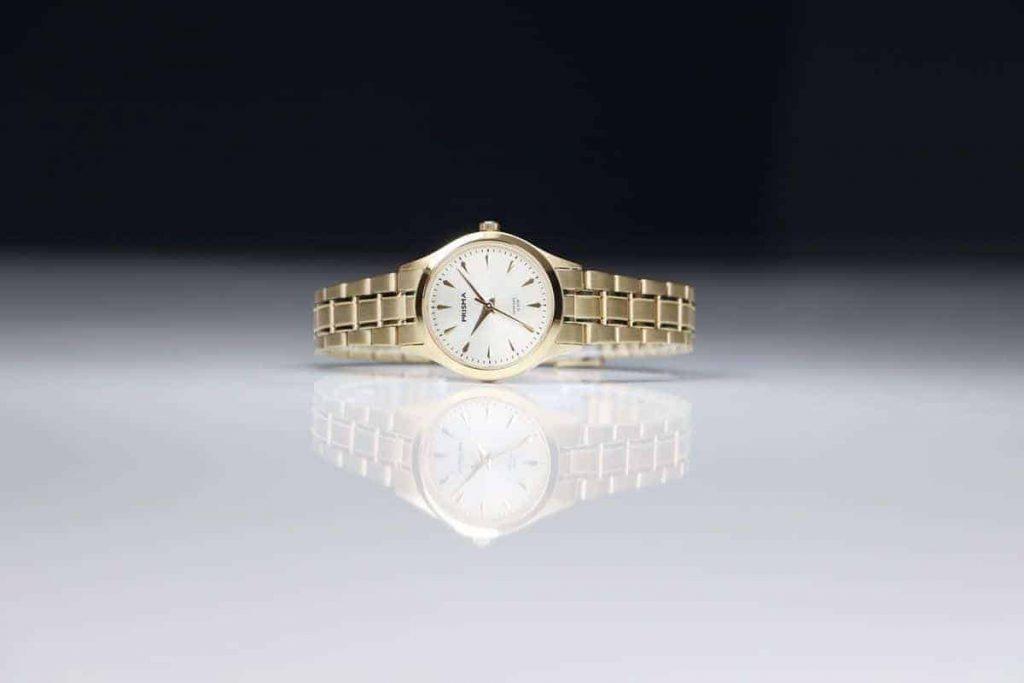 Edelstaal horloge voor haar prisma Journey Ultimate goud all stainless steel watch