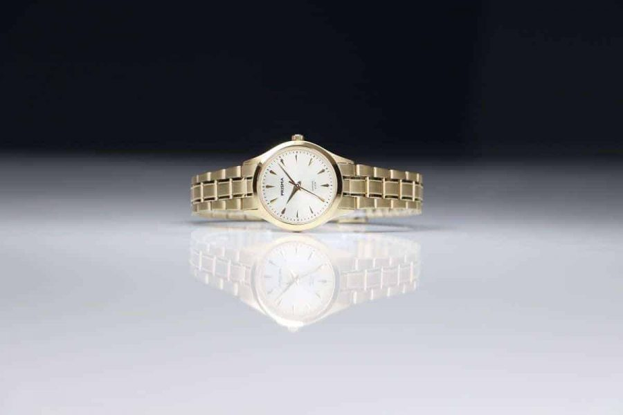Edelstaal horloge voor haar prisma Journey Ultimate goud all stainless steel watch