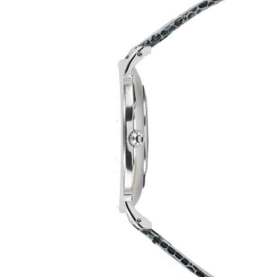 prisma 100%NL horloge zwart prisma horloges special edition P1625-136G Prisma 100NL zwart horloge online kopen zijkant